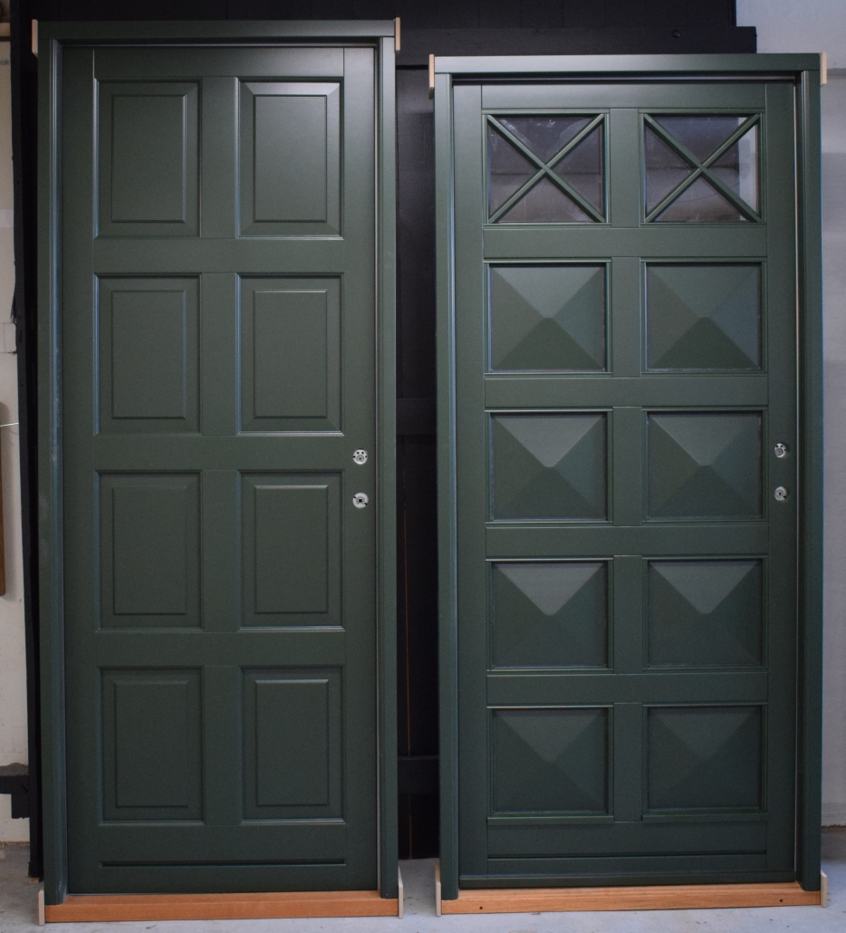 Billeder af døre