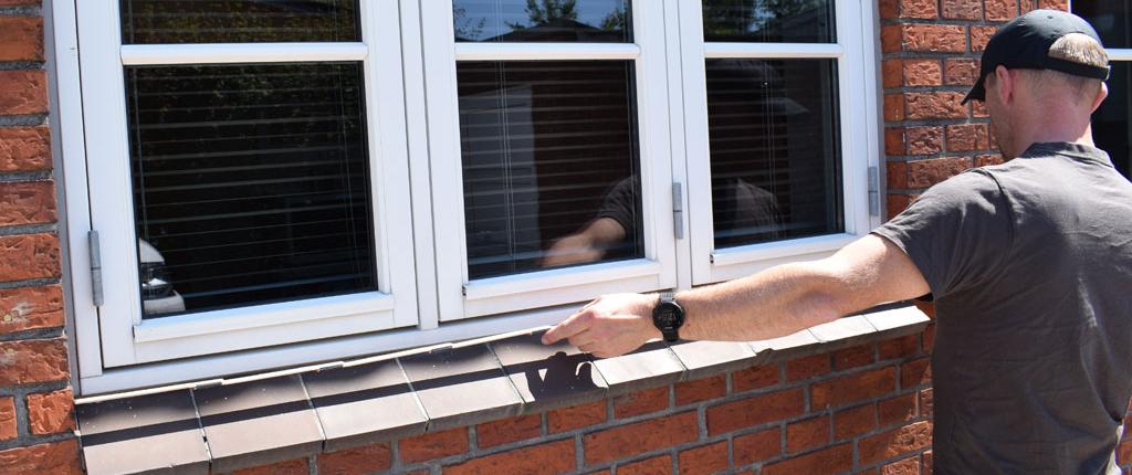 mål døre og vinduer opmåling